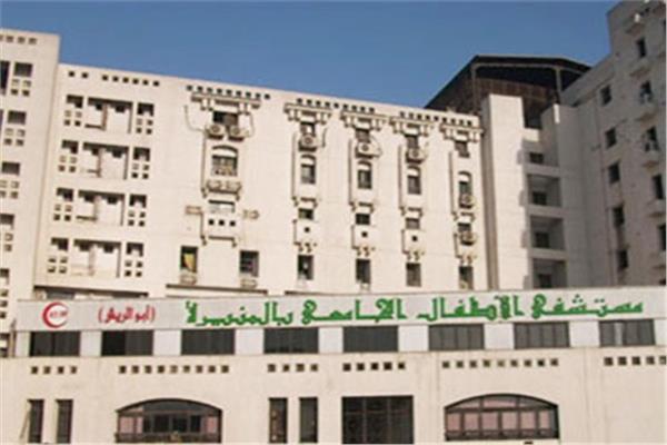 دعواتكم -   عاجل حريق هائل في مستشفى أبو الريش للأطفال.. والدفع بـ7 سيارات إطفاء 20201215