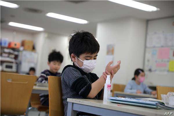 """مدرسة تعلن رسميًا تأجيل امتحان الترم الأول  لنهاية العام لطلابها المصابين لكورونا شرط تقديم شهادات طبية تفيد الإصابة """" بالدرجة كاملة"""" 20201248"""