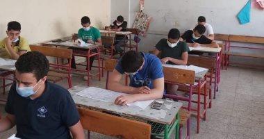 بالتوفيق - طلاب الشهادة الإعدادية بالجيزة يختتمون اليوم امتحانات نهاية العام 20210611
