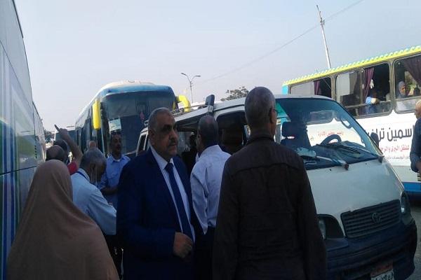 المعلمين تتابع سيارات نقل الملاحظين إلى لجان الدبلومات فى ثانى أيام الامتحانات 26-7-211