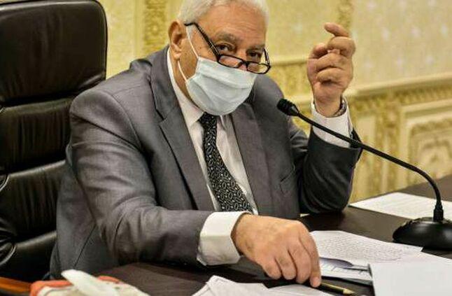 """عاجل مجلس النواب يوصى  النواب"""" توصي بفتح المساجد لأداء صلاة الجمعة 40016810"""