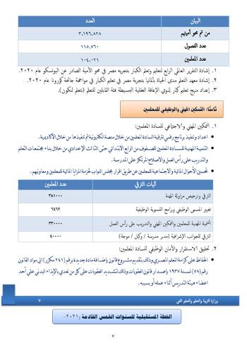 التعليم  تنشر حصاد الوزارة خلال 5 سنوات و تعلن خطتها : تطبيق نظام جديد والتوسع فى مدارس النيل 40605-10