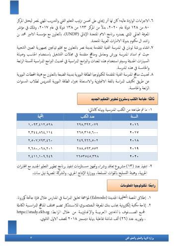 التعليم  تنشر حصاد الوزارة خلال 5 سنوات و تعلن خطتها : تطبيق نظام جديد والتوسع فى مدارس النيل 43382-10