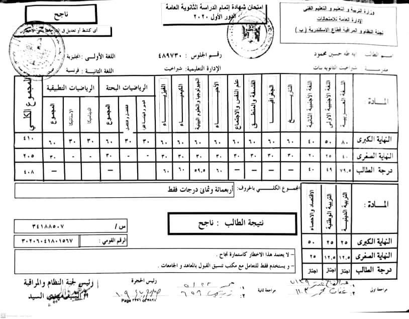 قصة آية الحاصلة على 99.5%.. من بائعة أحذية إلى طالبة بطب الإسكندرية 65722-10