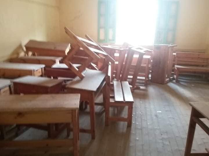 احالة مدير مدرسة و مدير إدارته شئون قانونية لعدم جاهزية المدرسة للدراسة 69856710