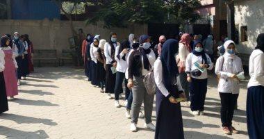 التعليم: طلاب الدبلومات التزموا بتعليمات الوقاية من كورونا فى أول يوم للامتحانات 75354910