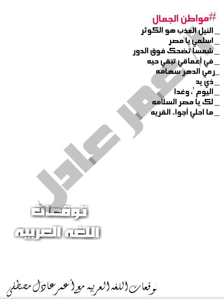 توقعات الأستاذ عمر عادل و عبد الحميد عيسى لإمتحانات اللغة العربية لكل صفوف ابتدائى ترم أول2020 79856710