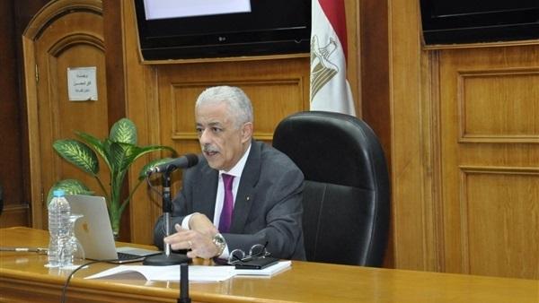 وزير التعليم: الإجابة ورقيًا على البابل شيت بامتحانات الثانوية العامة إلزامية 9213