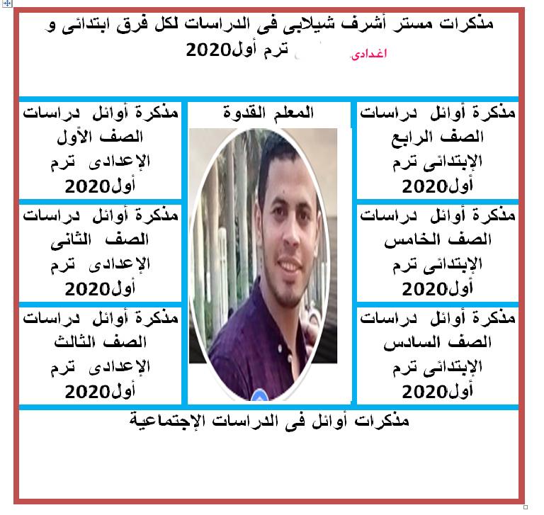 مذكرات مستر أشرف شيلابى فى الدراسات لكل فرق ابتدائى و إعدادى ترم أول2020 Eiia_a10