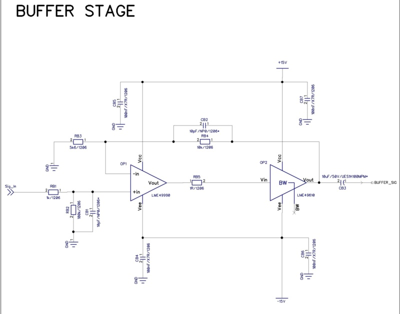 DIY Passlabs First Watt M2 Test110