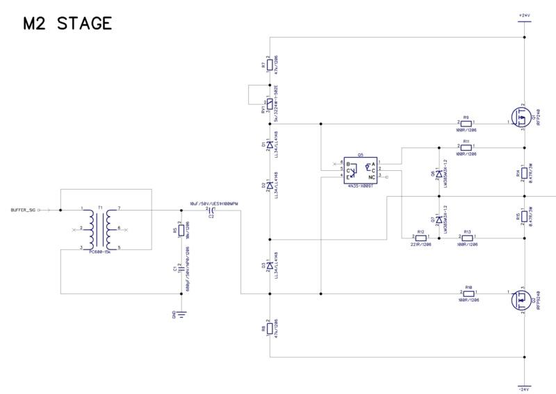 DIY Passlabs First Watt M2 Test311
