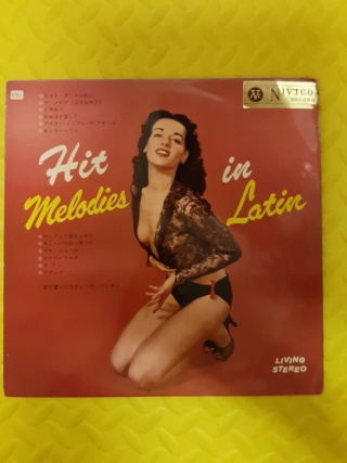 Hit melodies in Latin vinyl - Nivico Japan (used) Whats240