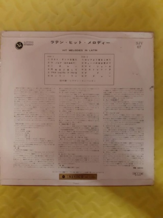 Hit melodies in Latin vinyl - Nivico Japan (used) Whats241
