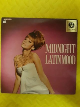 Midnight Latin Mood vinyl - Nivico Japan (used) Whats243