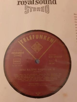 Eine Kleine - Barmusik 2 (vinyl by Telefunken, Germany) used Whats260