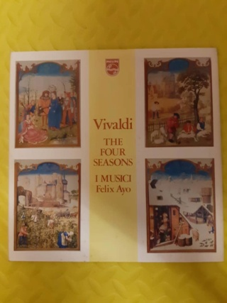 Vivaldi - The Four Seasons - I musici Felix Ayo (vinyl by Philips) used (SOLD) Whats265