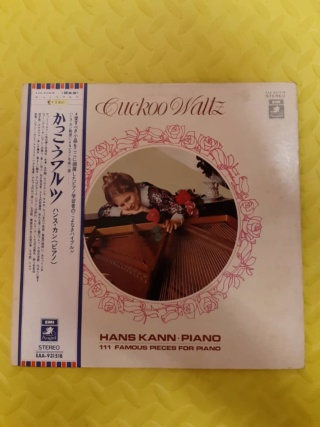 Cuckoo Waltz - Hans Kann, Piano (vinyl by EMI, Angel Record Japan) Used Whats269