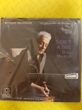 There's A Time - Doug Macleod 45 rpm (Reference Recordings, USA) New (SOLD) Whats275