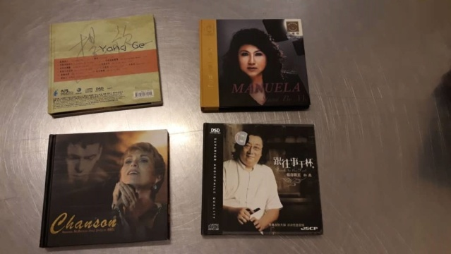 Chinese audiophile cds (used) SOLD Whats324