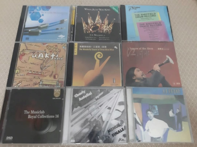 Famous and good recording cds (new old stock/seal copy)  Whats330