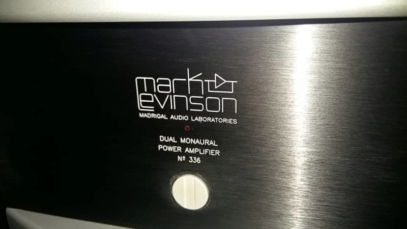 Mark Levinson ML 336 power amplifier (used) SOLD Whats391