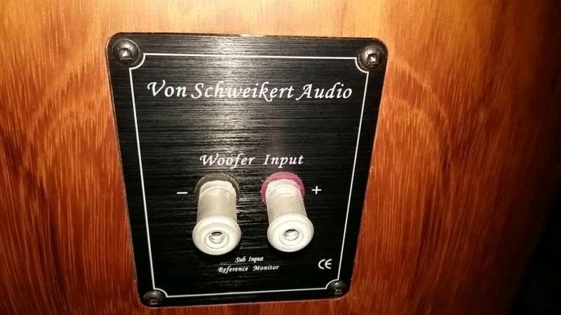 Von Schweikert model VR4 SR-MK3 speaker (used) SOLD Whats397