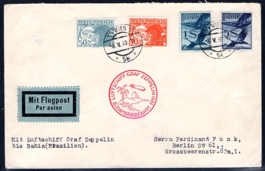 nach - Zeppelinpost aus/nach Österreich 57_l_o13
