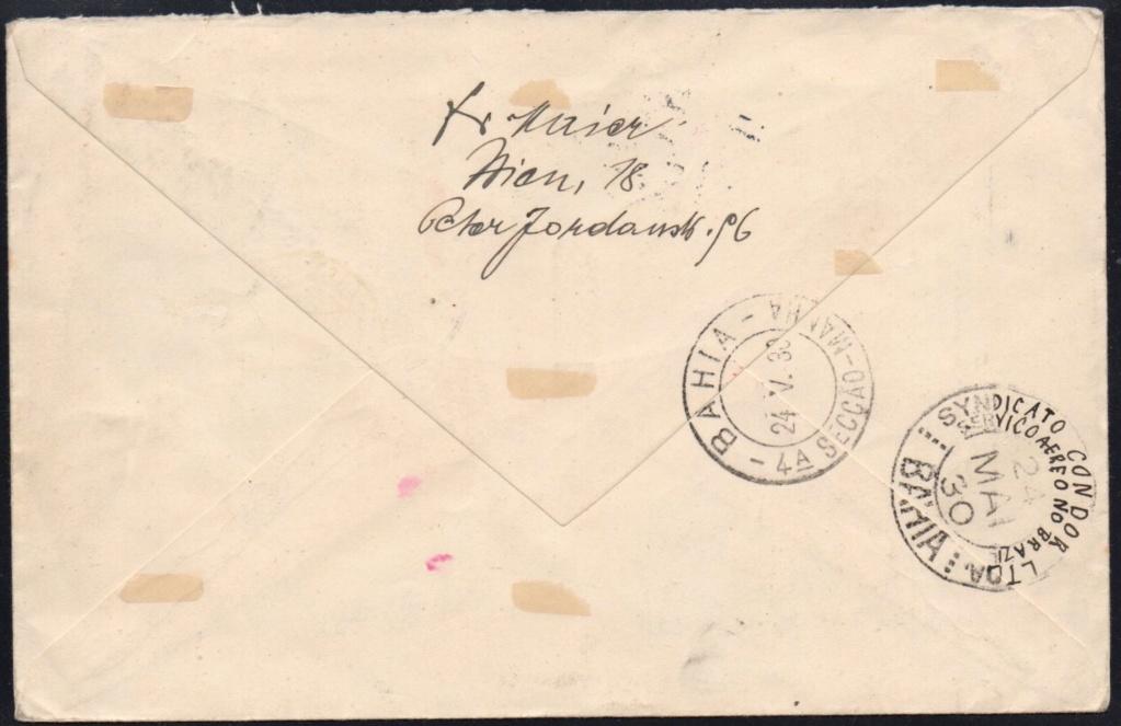 nach - Zeppelinpost aus/nach Österreich 57_l_o14