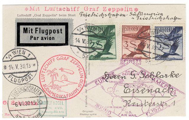 nach - Zeppelinpost aus/nach Österreich 57_p_o10
