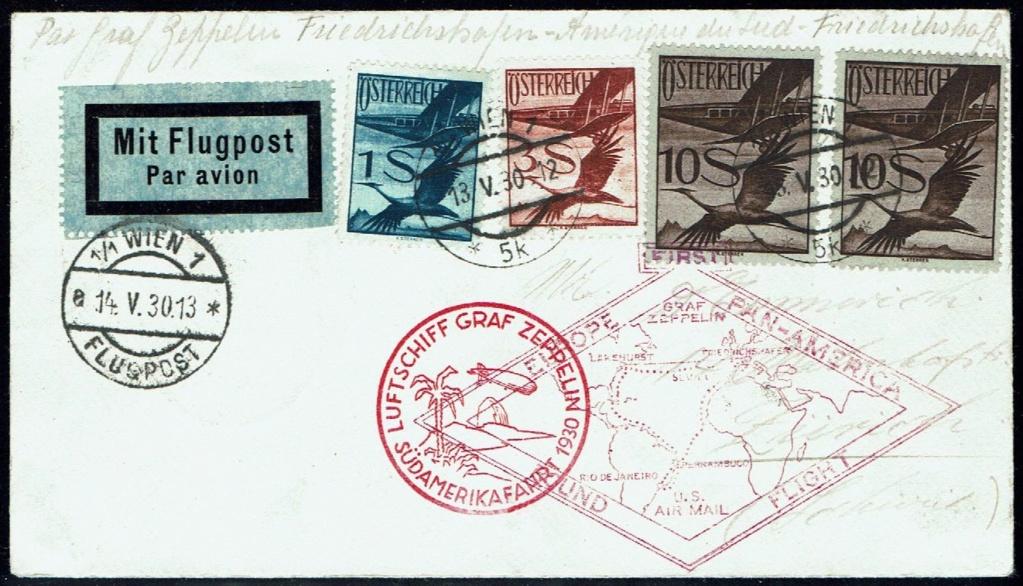 nach - Zeppelinpost aus/nach Österreich 57_p_o11