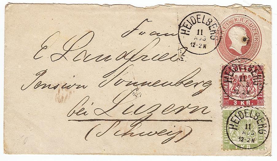 Badische Post in die Schweiz U1223210