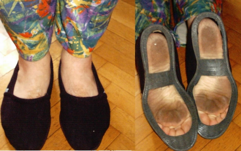 finte scarpe si, finte scarpe no Defons11