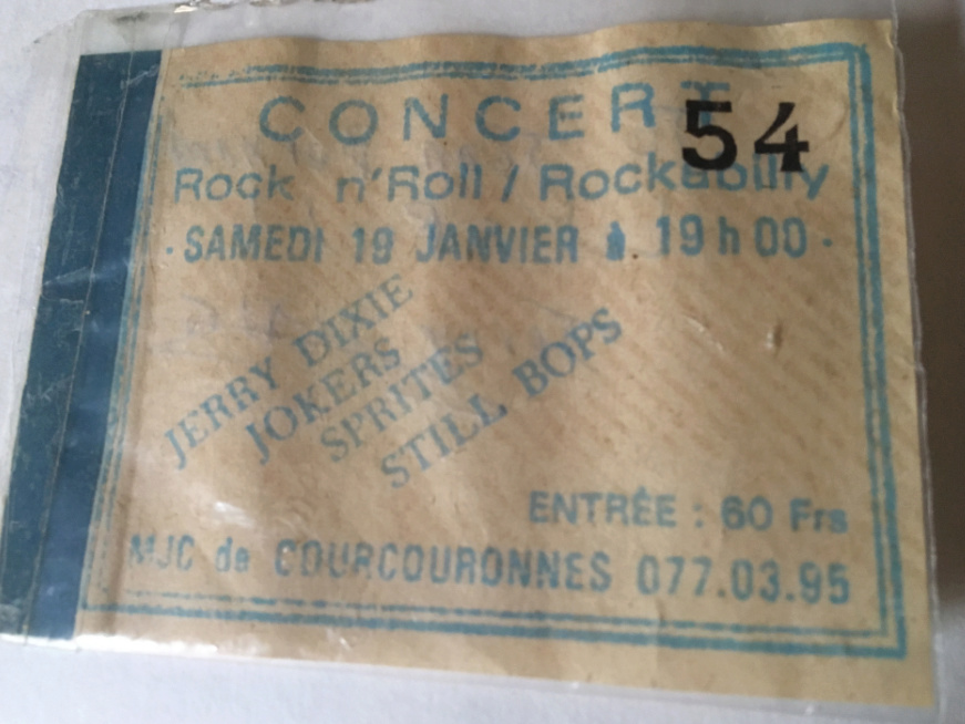 Concert de Courcouronne 19 Janvier 85 Jd210