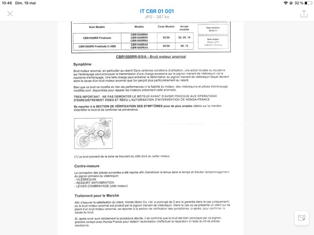 Problème bruit moteur CBR 1000 année 2009 58772d10