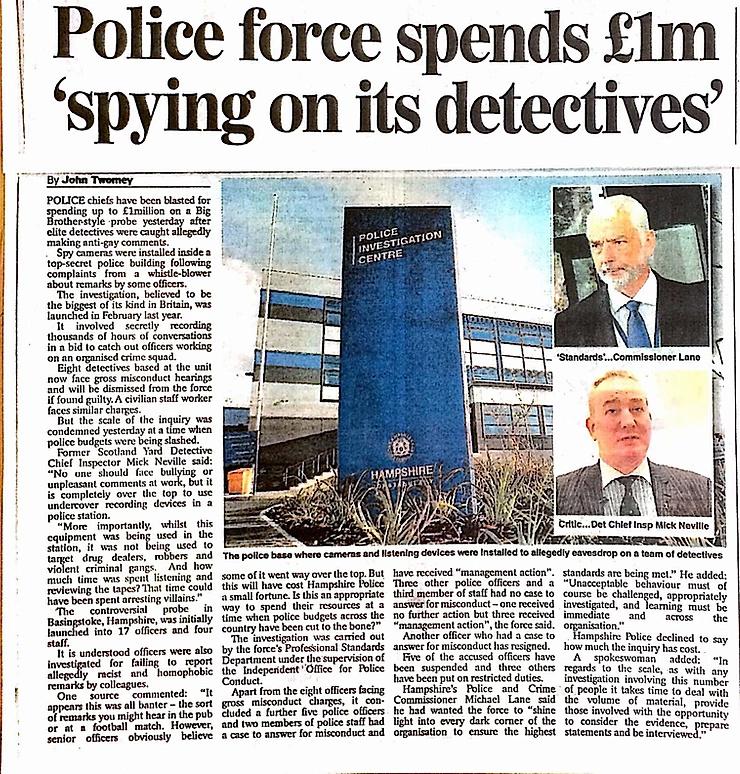 Good Cop Down Whistleblower:  Former Met Police Detective 98c03910