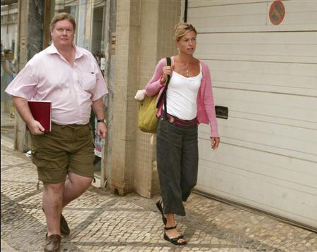Madeleine McCann's parents are STILL having to pay legal fees to fight Portuguese detective's sickening claim that they were responsible for their daughter's death Scre1684