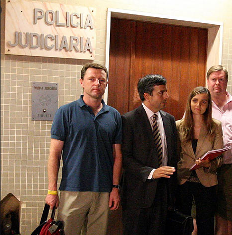 Madeleine McCann's parents are STILL having to pay legal fees to fight Portuguese detective's sickening claim that they were responsible for their daughter's death Scre1685