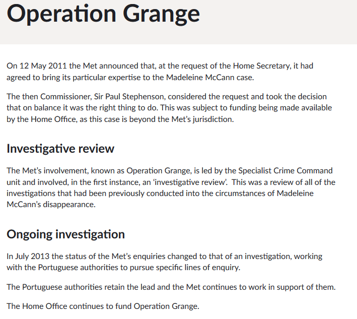 Met Police (Operation Grange) - Bollocks or not bollocks? - Page 14 Scree391