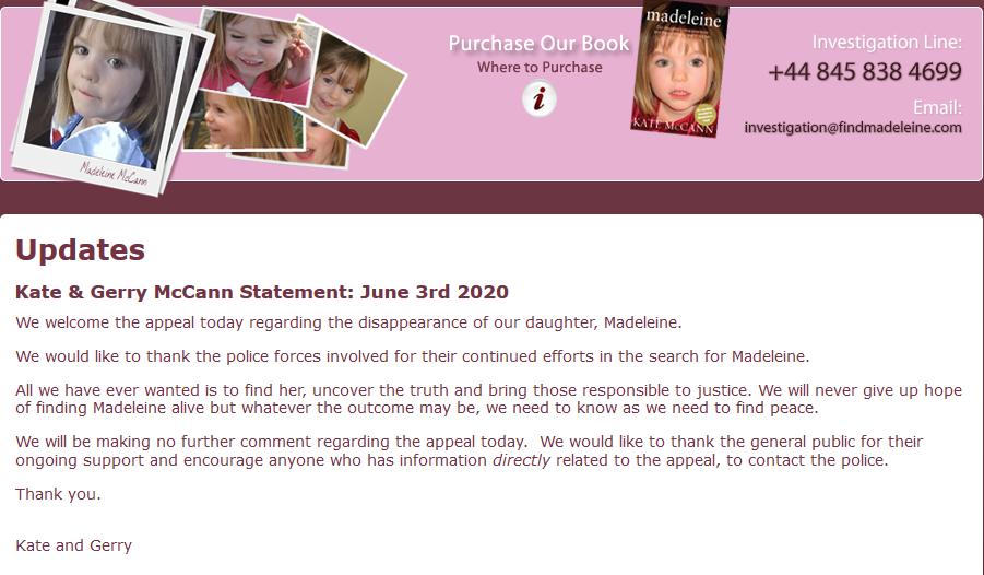 The Find Madeleine Fund - Page 3 Scree660