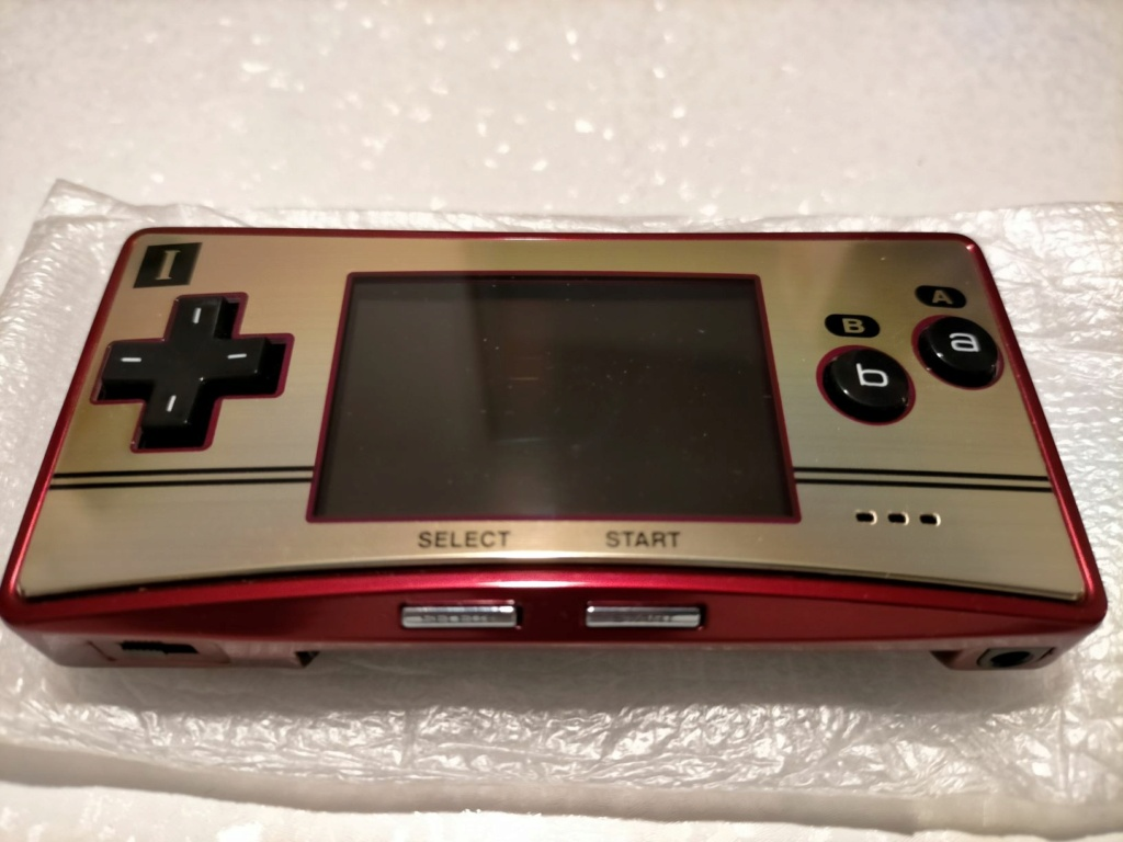 [VDS] GAME BOY MICRO FAMICOM EDITION 212