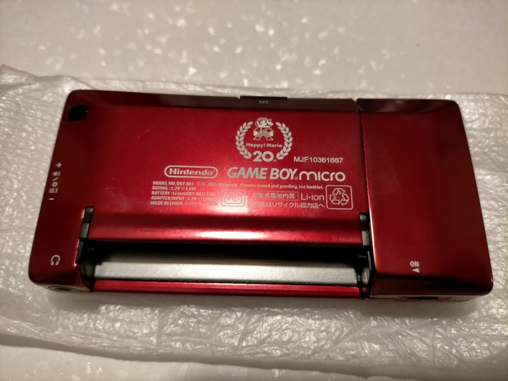 [VDS] GAME BOY MICRO FAMICOM EDITION 312