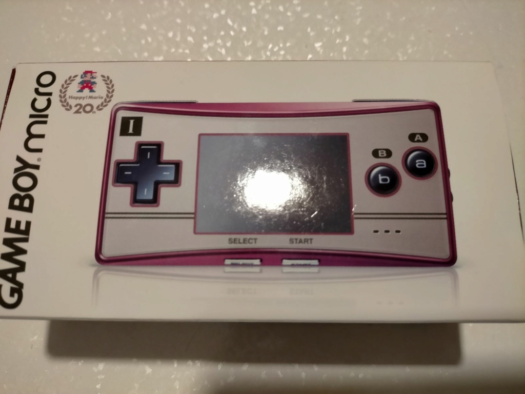 [VDS] GAME BOY MICRO FAMICOM EDITION 412