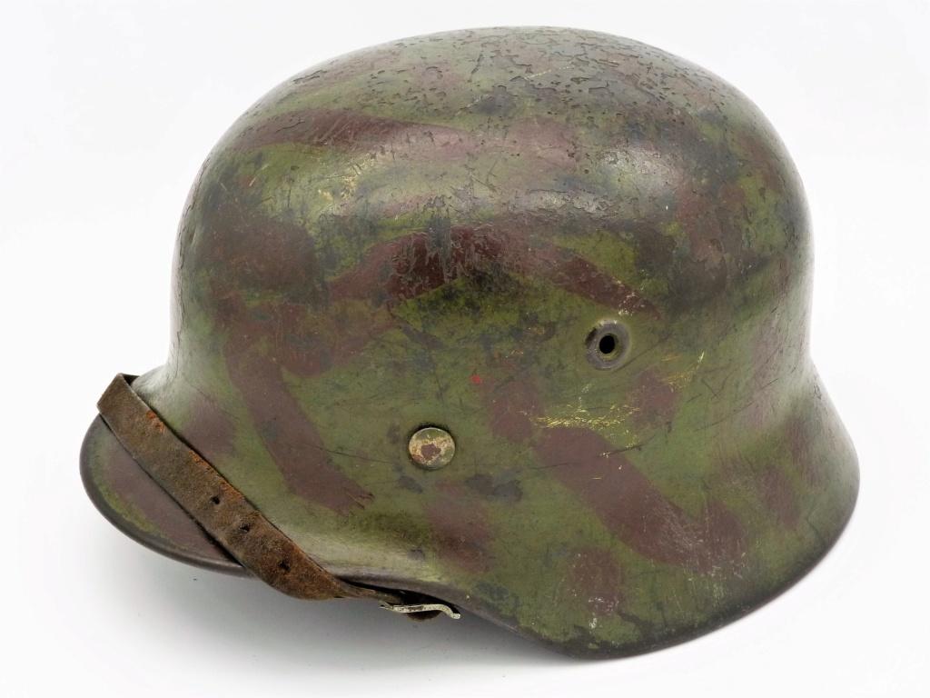"""Mon casque """"coloré"""" de la LUFTWAFFE 01-3-410"""