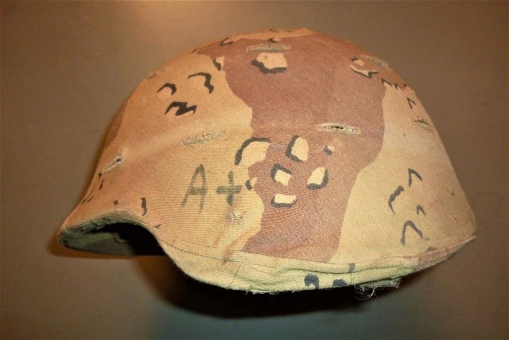 Casque USA kevlar de la première guerre du golfe 0124