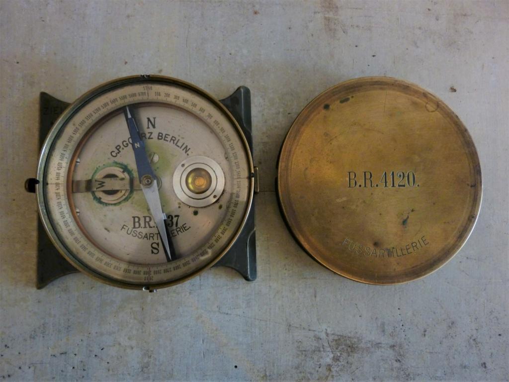 Boussole fussartillerie C.P GOERZ BERLIN 14-18 0132