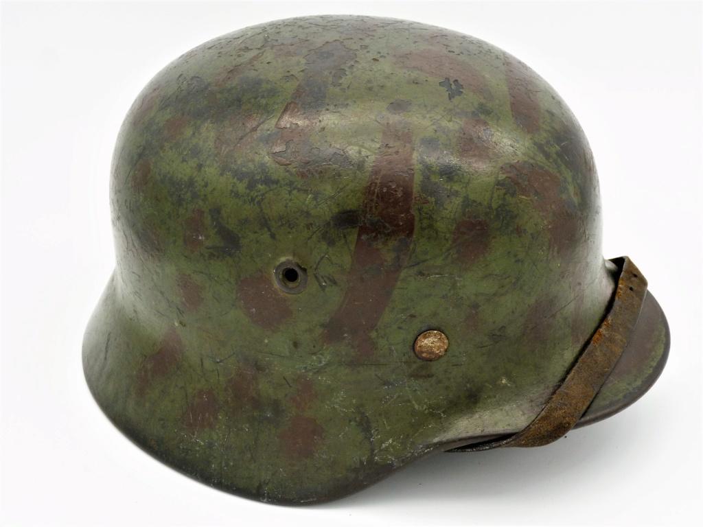 """Mon casque """"coloré"""" de la LUFTWAFFE 02-3-410"""