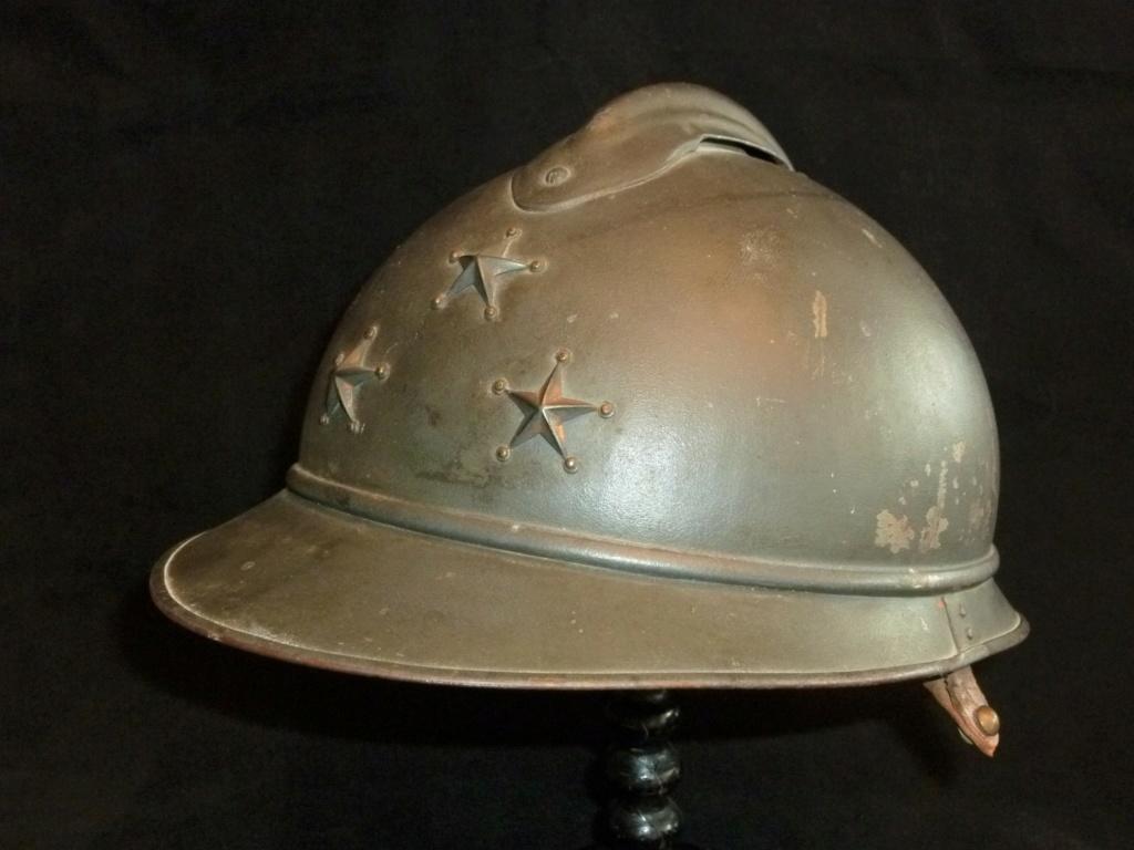 Casque Adrian modèle 15 de général de division 03110