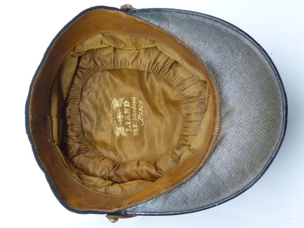 Képi foulard modèle 1886 de capitaine du 123 RI. 0426