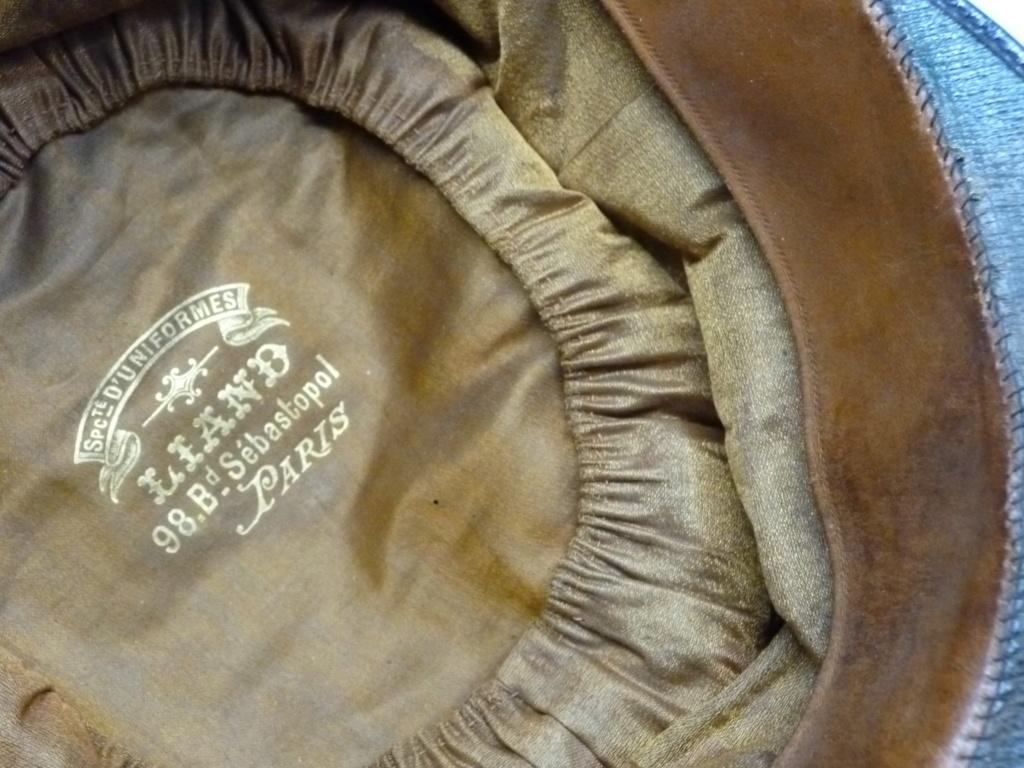 Képi foulard modèle 1886 de capitaine du 123 RI. 0524