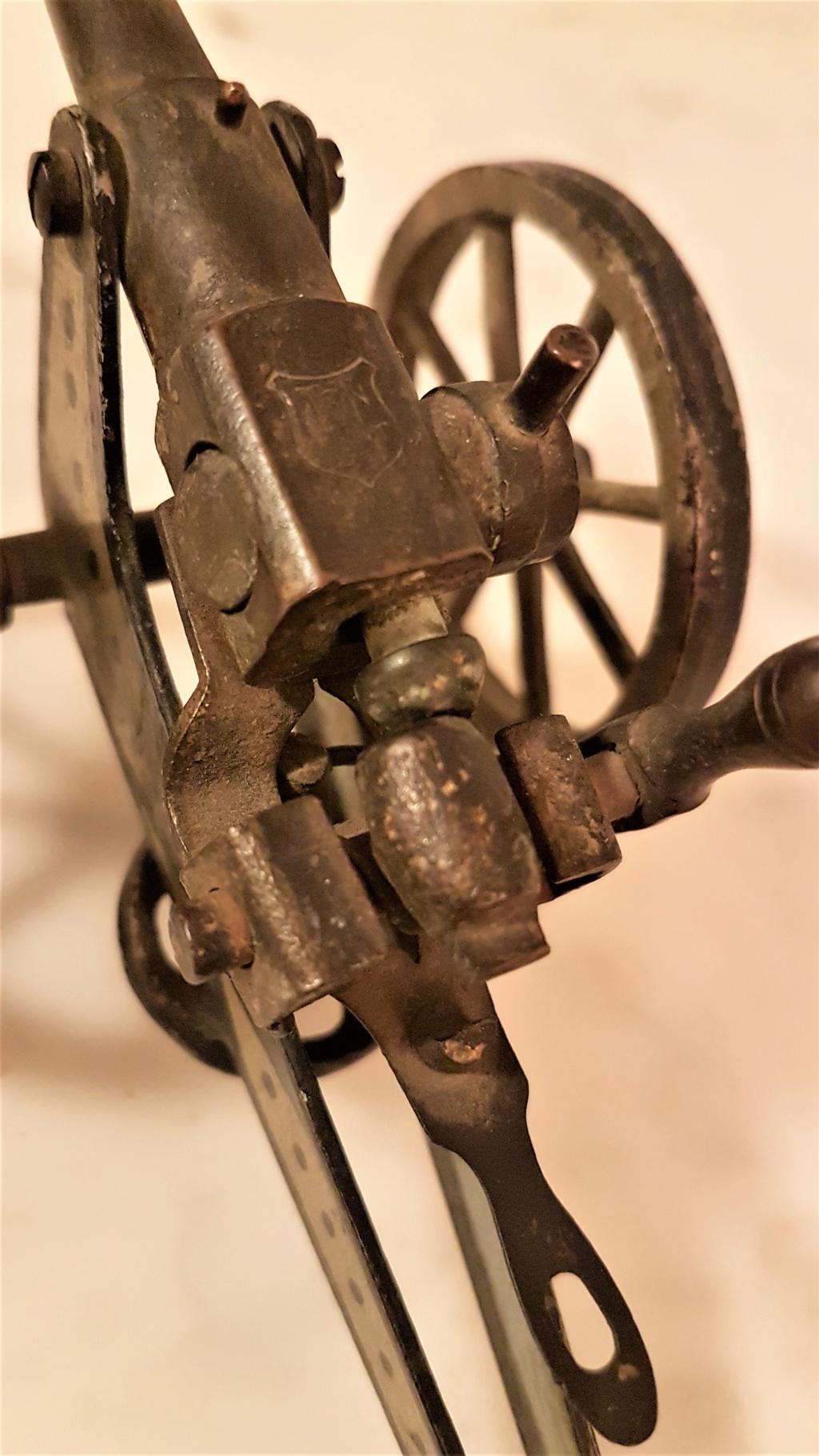 jouet ancien, canon de campagne 0617